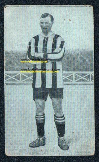1922 Duncan Walker Dumbarton St Mirren Forest